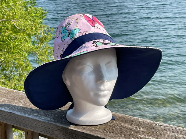 Sun Hat (Butterflies)